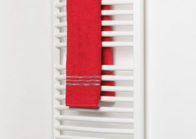 Walshaw Arched Towel Rail - White